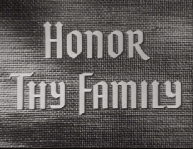 honor thy family title