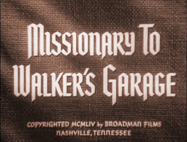 missionary to Walker's garage title